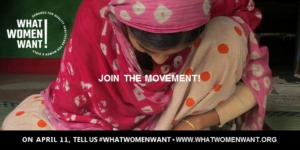 Lancement de la campagne : ce que veulent les femmes